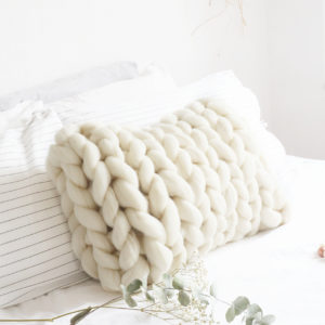 Natural White Cushion