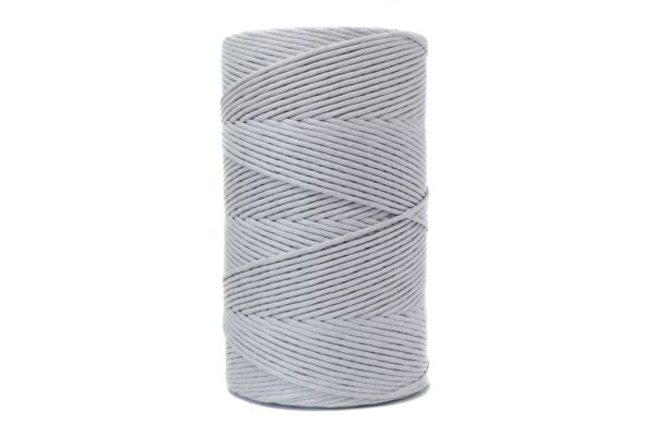 4 mm jumbo gris plata